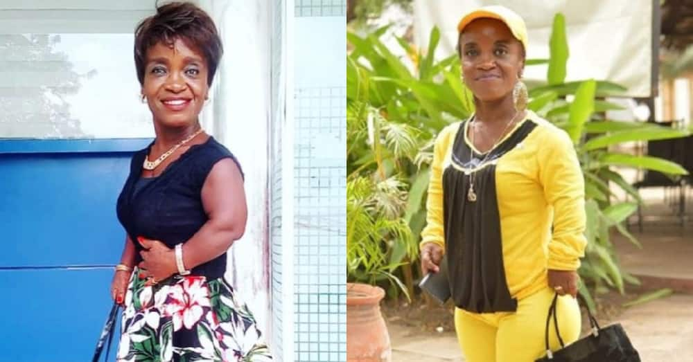54-year-old Adwoa Smart narrates how her height affects her anger