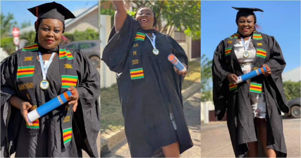 Nana Chelsea: Mum who wanted to defer programme due to challenges earns master's degree