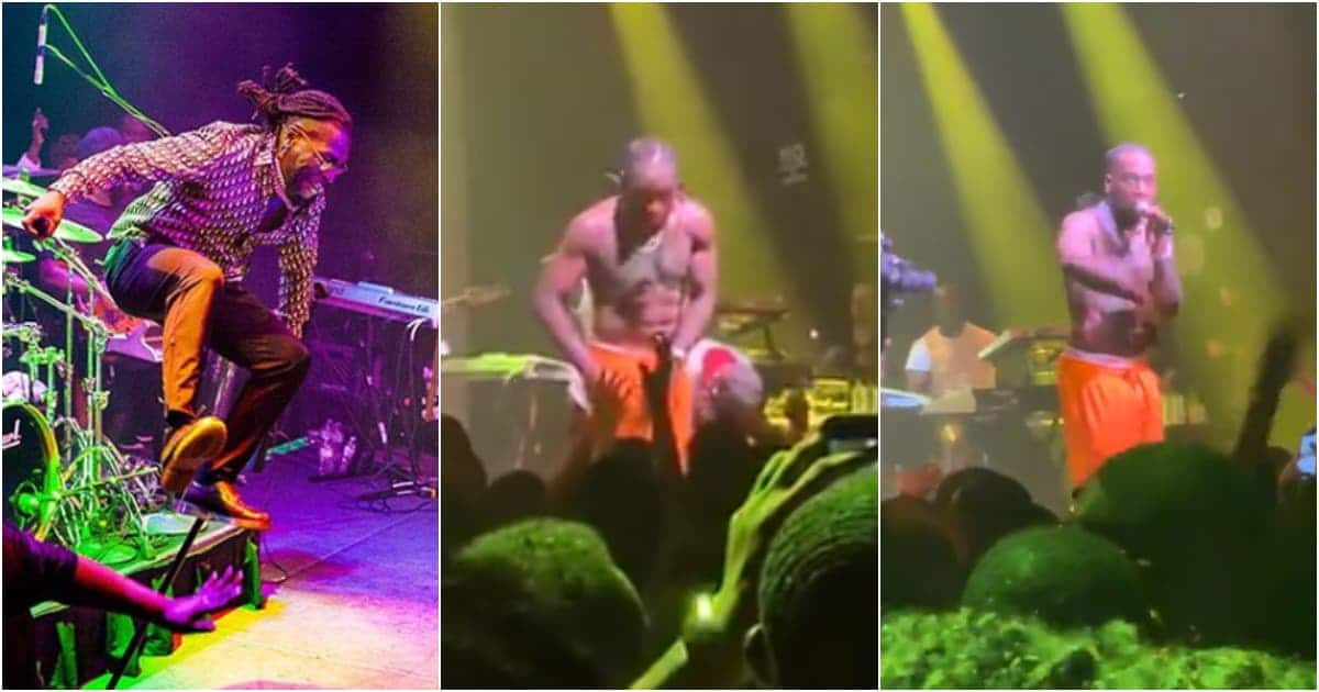 Burna Boy refunds ticket money to man who was not singing along at show (video)