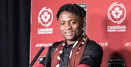Young talented Ghanaian footballer signs multi-year contract with a top club in Canada