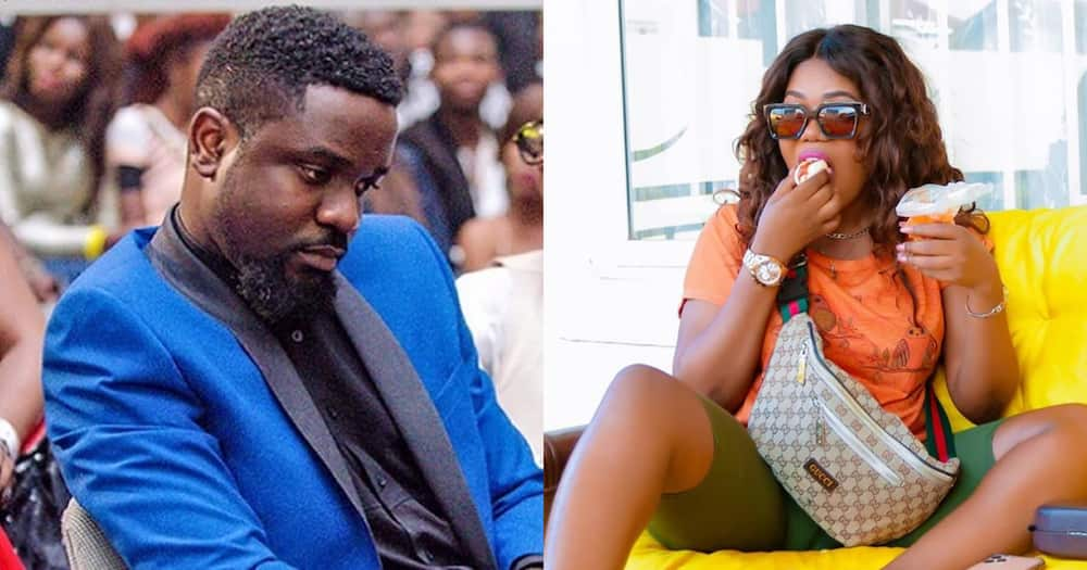 Mzbel reveals Sarkodie rejected to feature on song she sent to him