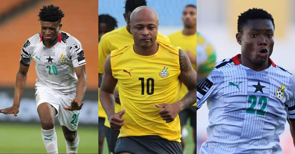 Bright Future: Andre Ayew hopeful of Ghana future with Kudus and Issahaku available