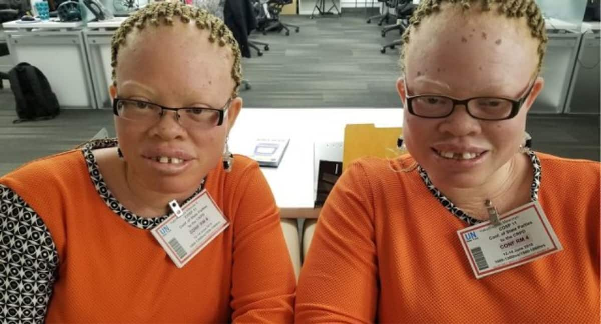 Persons living with albinism present petition to CHRAJ over discrimination