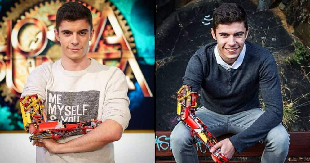 Meet David Aguilar, 19 Year Old Amputee Who Built a Prosthetic Arm From LEGO Blocks