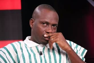 Counsellor Lutterodt 'meets his meter' as Desmond Elliot slams him for being immoral in hot video