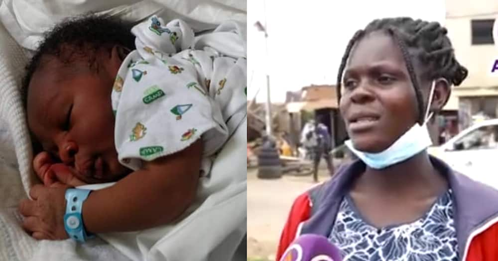 Homeless 16-year-old pregnant girl gives birth to baby boy, begs for help in video