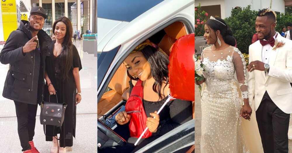 Patrick Twumasi buys Range Rover car as birthday gift for his wife (Photos)
