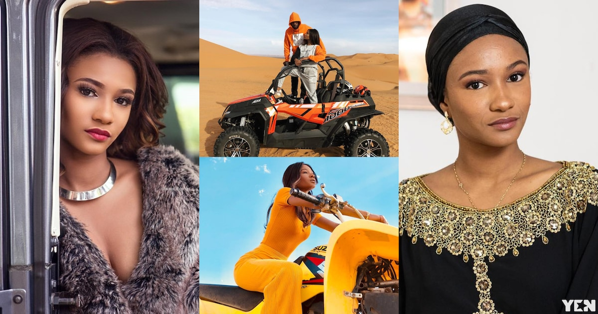 Abedi Pele's daughter Imani shows biking skills as she models for UK brand Arcminute