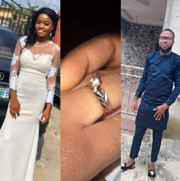 Ehis revealed that his girlfriend accepted his proposal/Gwen Divy Ifeson