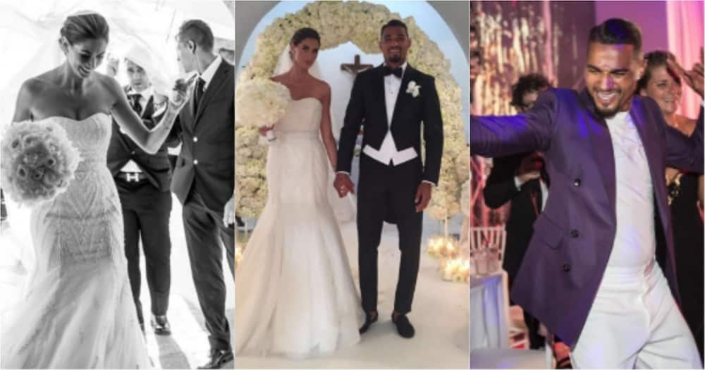 Kevin-Prince Boateng and wife mark 2nd anniversary with throwback wedding photos