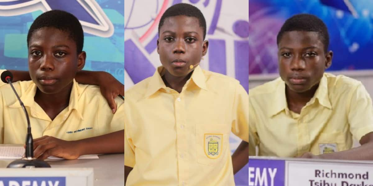 Brilliant Accra Academy boy who repped school in 2019 & 2020 NSMQ scores 8As