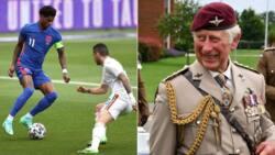 Prince Charles explains why England striker Marcus Rashford is his favourite hero