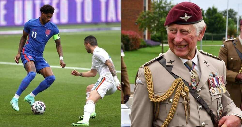 Prince Charles, England, Marcus Rashford