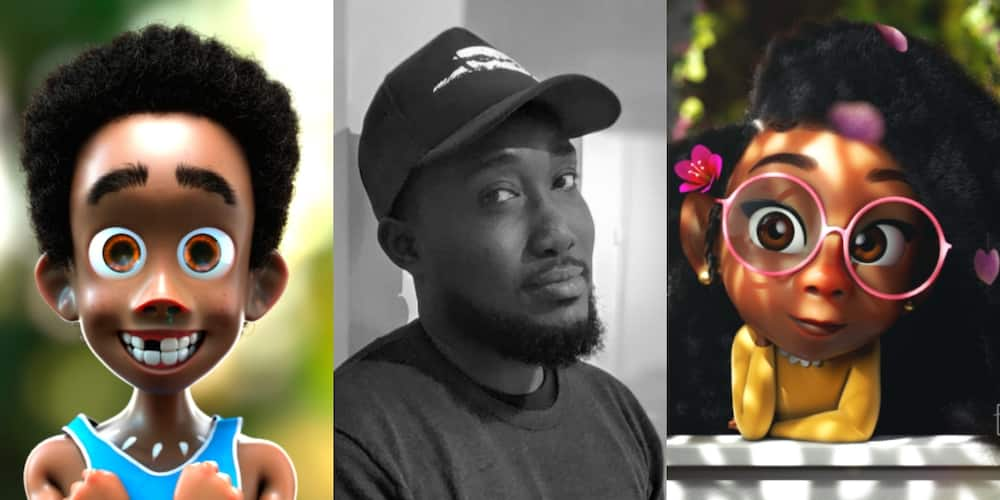 PHOTOS: Meet Bertil Toby, Ghanaian 3D character artist and game animator