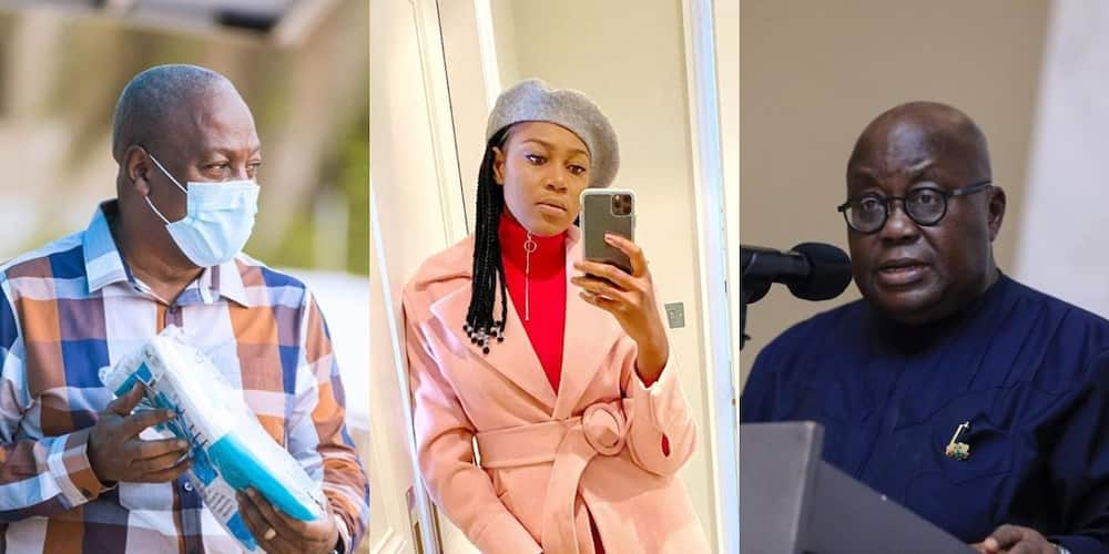 Yvonne Nelson: Actress hits hard at Akufo-Addo over Recent Dumsor