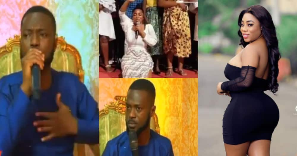 People criticising Moesha do more 'evil' - Rev Dr Danso seriously jabs naysayers in video.