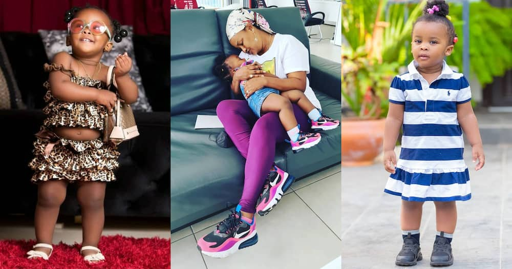 Baby Maxin: McBrown's daughter dazzles in new photo