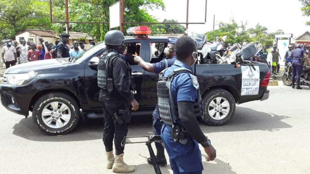 A/R: Unknown gun men shoot Chinese man in Kumasi