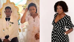 Comfort Bliss speaks in new video after Richard Agu's wedding; explains why she did not Obuasi cause #vawulence