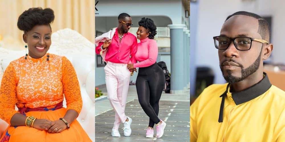 I can not live without you - Okyeame Kwame pens romantic message to wife on her birthday