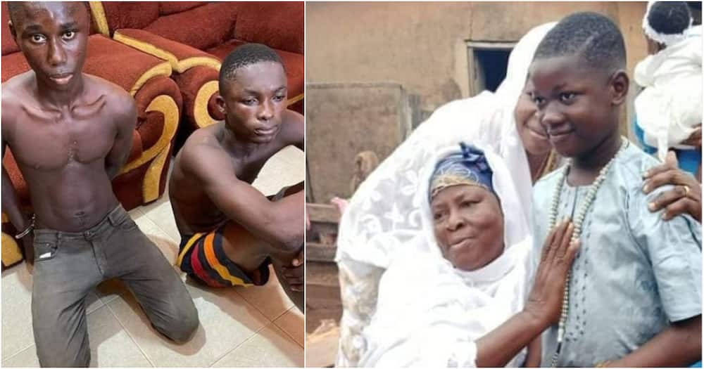 Ishmael Mensah: Tears flow as photo of 11-year-old boy killed in Kasoa for money rituals pops up