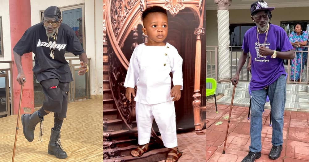 Lil Win: Kumawood Actor Flaunts His Cute 4th Son On His Birthday; Photo Drops