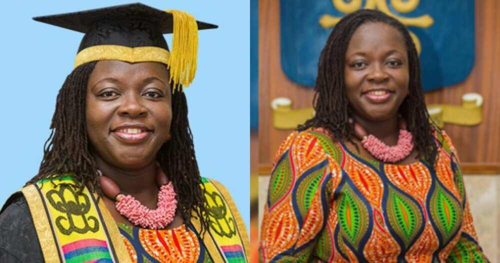 Prof. Nana Aba Appiah Amfo: Acting Vice-Chancellor of University of Ghana