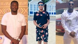 Asamoah Gyan flaunts his 1st son in lovely big boy photos on his 15th birthday
