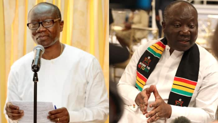 Alleged change in look of current finance minister causes Ghanaians to react massively