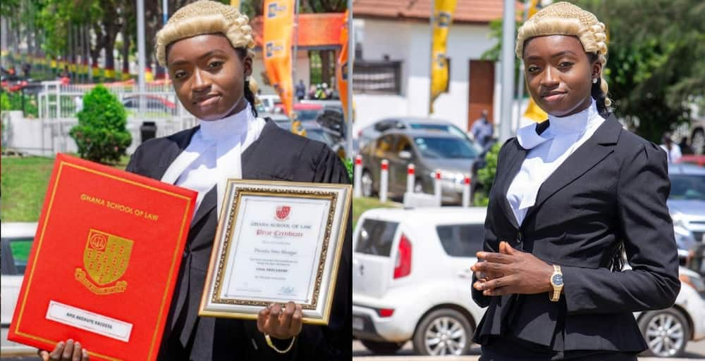 Ghanaian lady who was called to the bar at 22