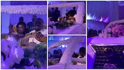 Ghanaian couple set record with biggest-ever wedding cake shaped like V8; drive it in video