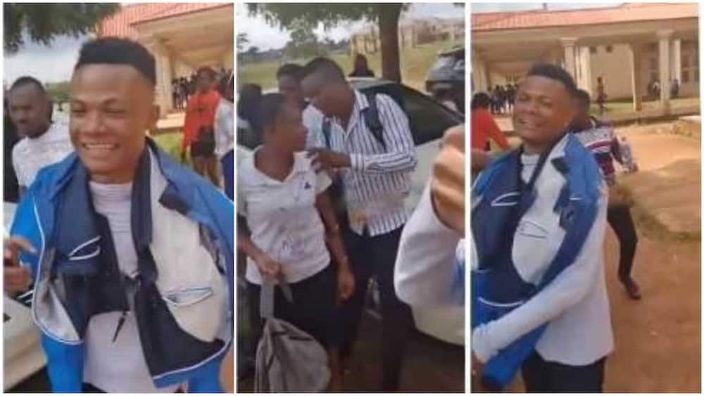 Na mumu dey do masters, go and hustle, enter Ghana - UNIBEN student says in video after final undergrad exams