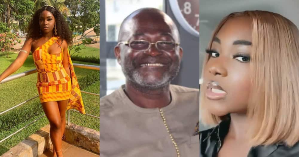 Geraldine: Ken Agyapong's daughter flaunts her beauty as she drops 10 facts about herself