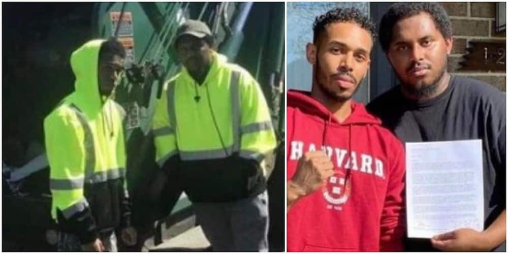 Young Man Who Works as a Trash Collector Gets Accepted into Harvard, Shows Off His Letter, Many React