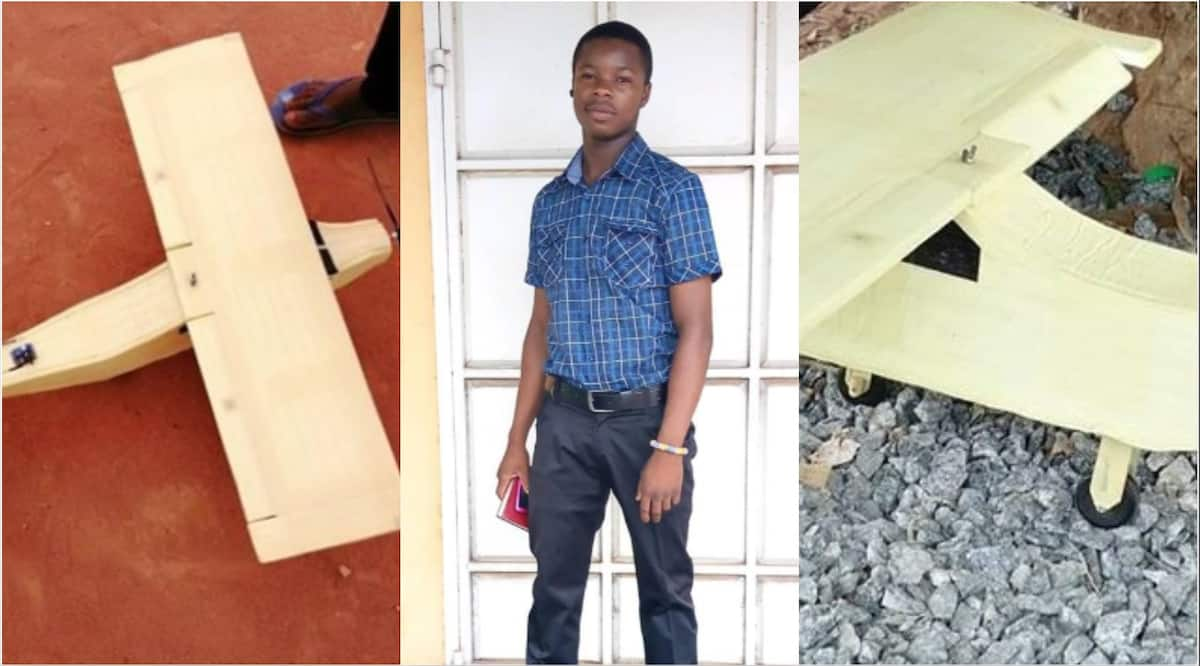 Young Ghanaian inventor set to fly aircraft he built from scatch