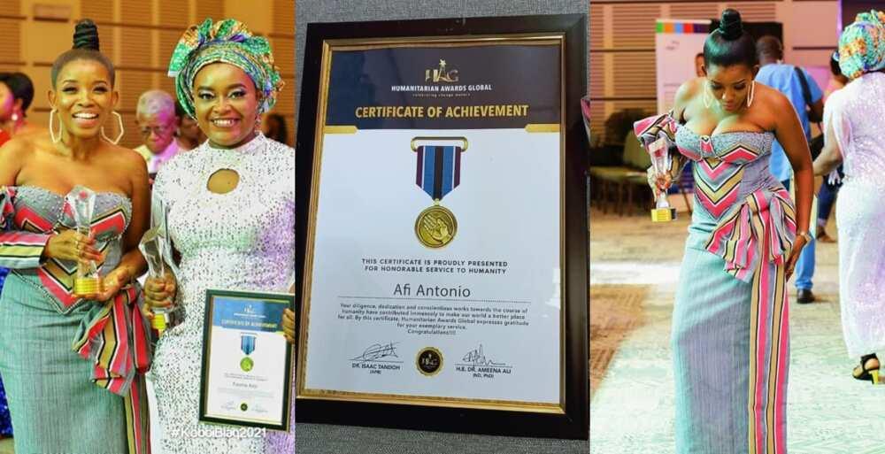 Afi Antonio: Ghanaian Philanthropist Receives Global Humanitarian Award