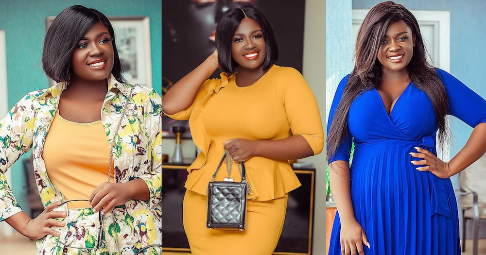 East Legon landlady: Tracey Boakye wows fans with 3 lovely bosschick photos