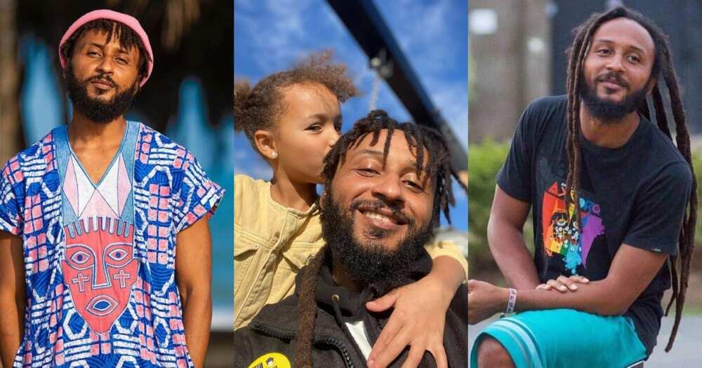 Wanluv flaunts his white children in new photos; fans praise them