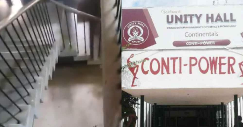 KNUST student who fell off the balcony reported dead, was not with Continental Hall
