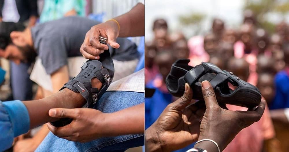 Man Invents Shoe That Grows 5 Sizes to Help Protect Kids' Feet