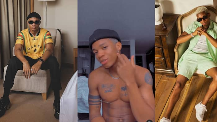 I'm too handsome - Kidi says in video as he tags himself 'most handsome man alive'