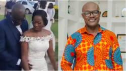Bright Nana Amfoh: TV3 presenter marries fiancée; first video pops up