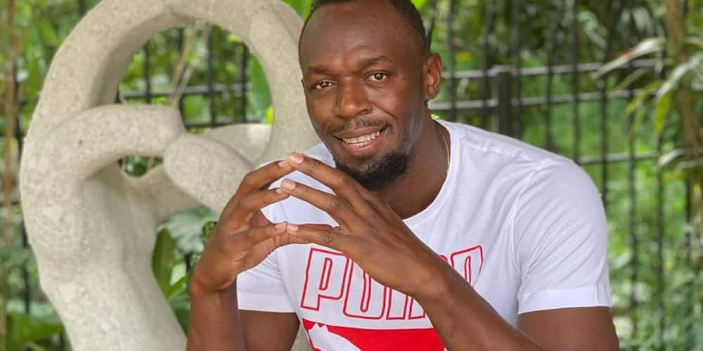 Olympia: Usain Bolt unveils newborn daughters face, name while celebrating girlfriend's birthday