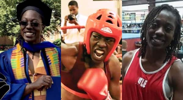Meet Dr. Ornella Sathoud who is a Ghanaian scholar, boxer and a kick boxer (Photos)
