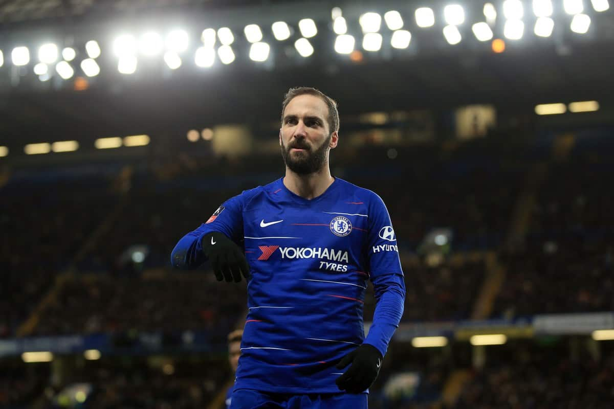 Higuain caught on tunnel camera spitting on hand-rail during defeat at City