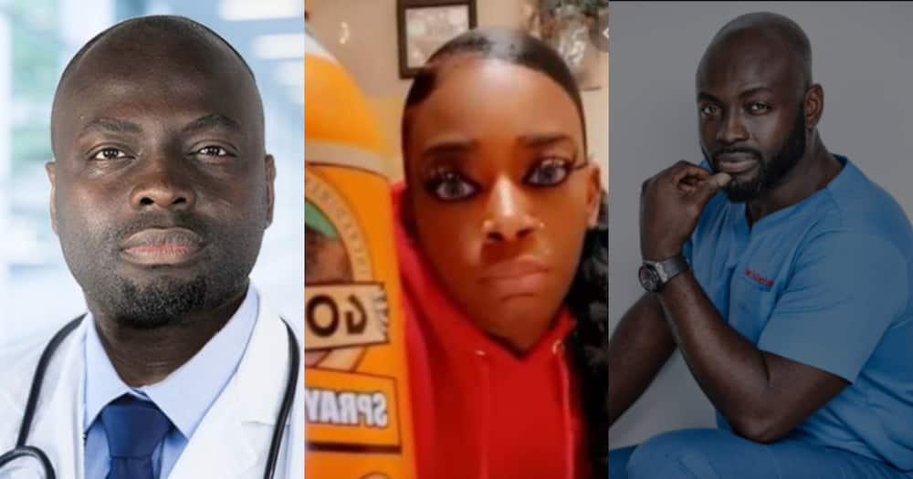 Dr Obeng: Ghanaian plastic surgeon offers to help Black woman who used permanent glue in hair