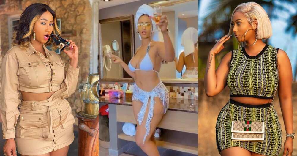 Hajia4Reall: Mona Montrage drops hot bikini video from Tanzania