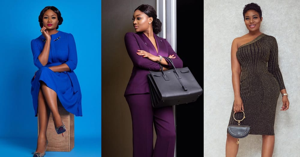 Photo of Sandra Ankobiah with uneven curves has fans talking