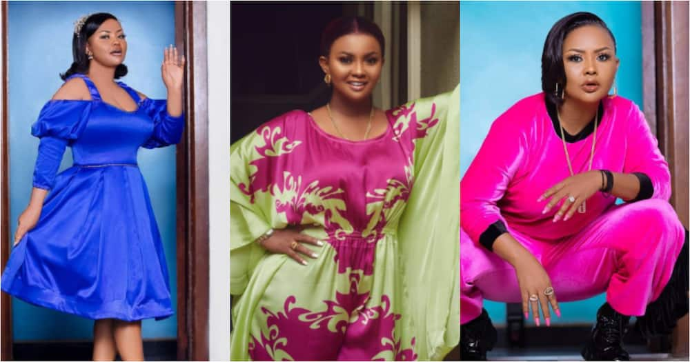 Beautiful photo of Nana Ama McBrown looking slim leaves fans in a frenzy