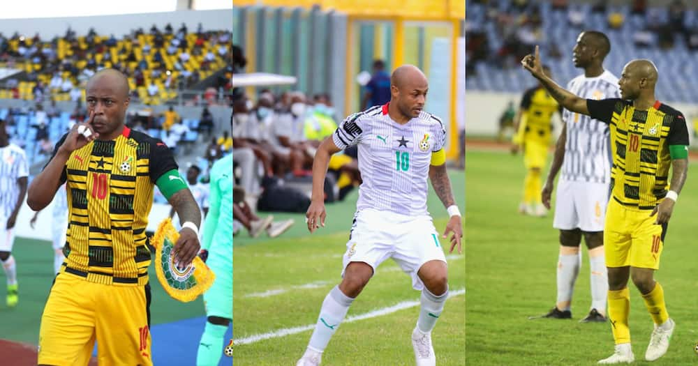 You can love your wife and be angry at her - Andre Ayew on relationship between Black Stars and Ghanaians